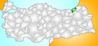 Turkey_Provinces_locator_Rize