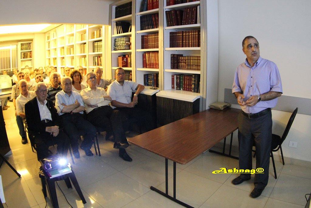 Մուսա լեռան հերոսամարտին նվիրված դասախոսություն «Ազդակ»-ի «Ժիրայր Պուտակյան» կենտրոնում. Ազդակ